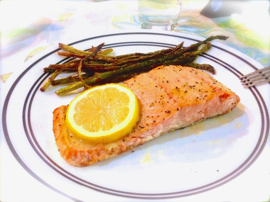 a report on the farming of my favorite meal salmon