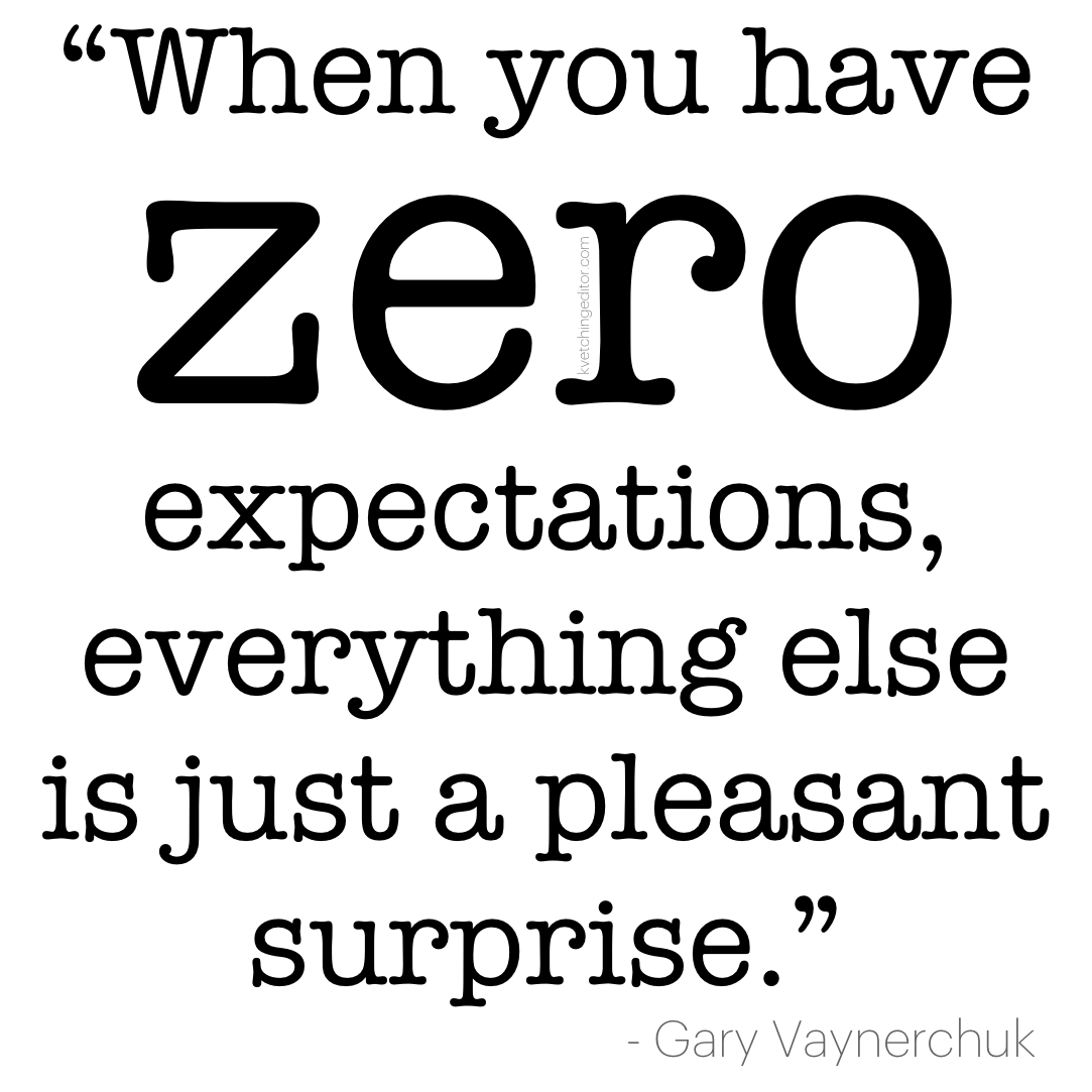 Image result for gary vee expectations