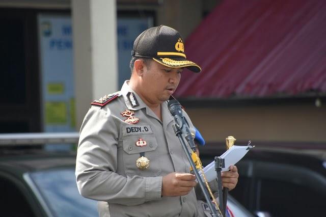 Gelar Operasi Patuh, Tindak Tegas Pelaku Pelanggaran Berlalu Lintas, Personil Hindari Pungli