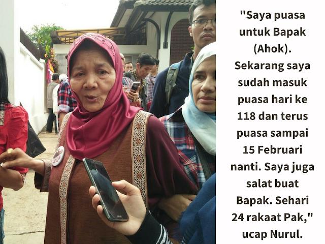 Ini Nenek Muslim yang Berpuasa 118 Hari Buat Ahok