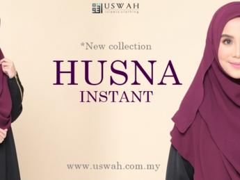 Laki Bini Pening Pilih Shawl dan Tudung di Uswah.com.my