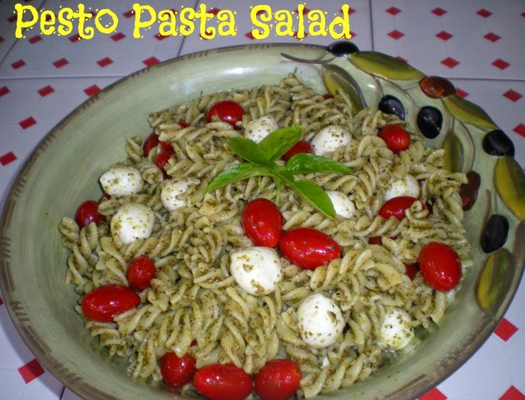 Simply DIY: Trader Joe's Pesto Pasta Salad Genoese