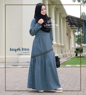 gamis jasmine hijab dress