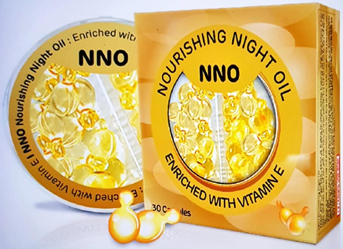 Dầu dưỡng da ban đêm NNO - Cân bằng da với dưỡng chất Vitamin E & dầu Jojoba