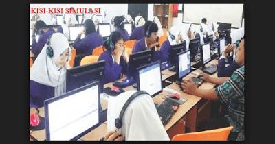 Download Kisi-Kisi Simulasi UNBK 2019 SMK SMA SMP