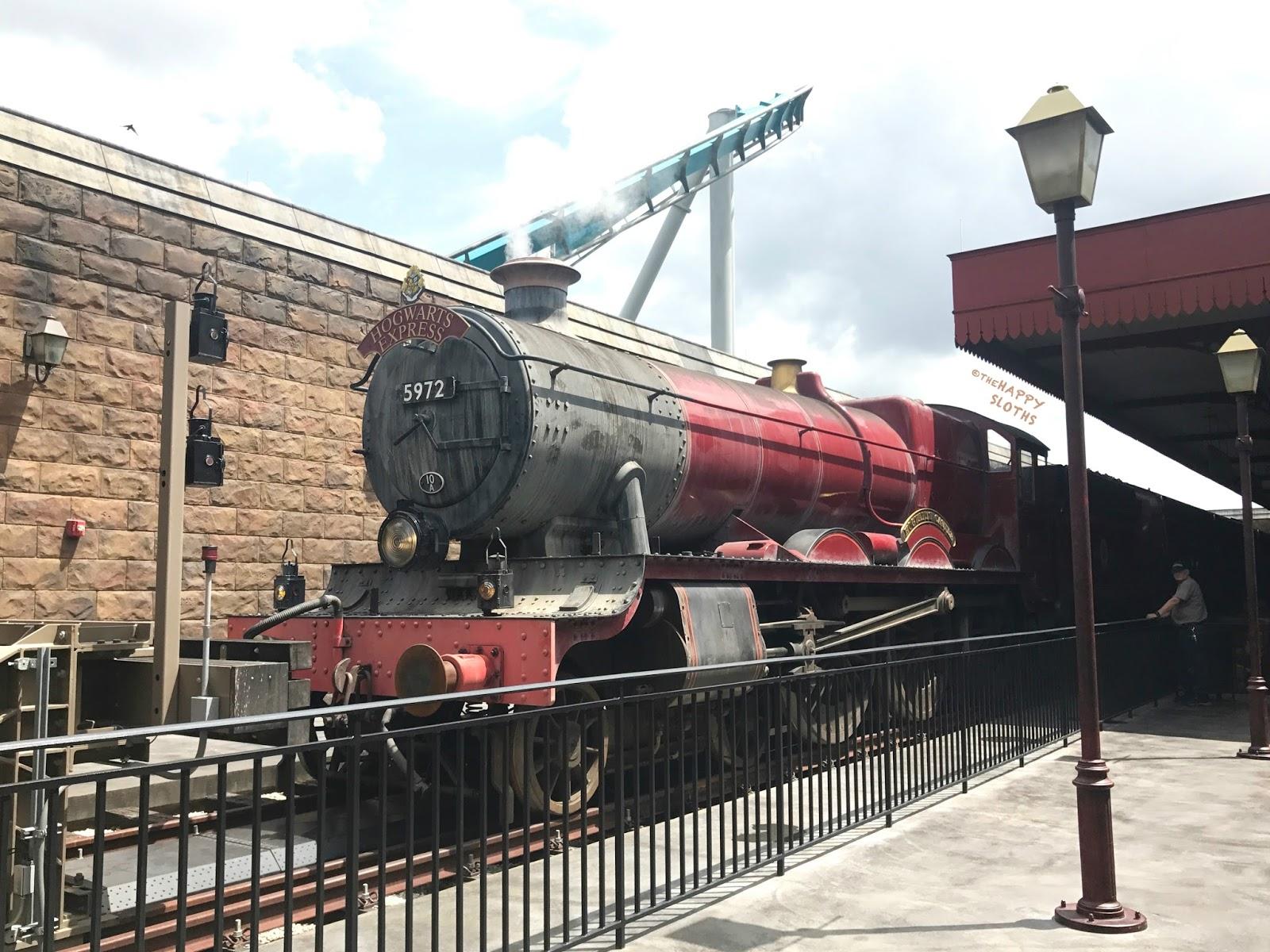 Universal Studios Wizarding World Harry Potter Iron-On Patch Hogwarts Railways