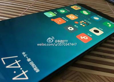 Xiaomi Mi Note 2 curved display
