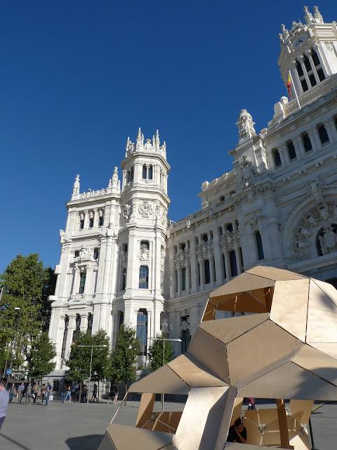 1 dzień zwiedzania w Madrycie - spacer po centrum i Pałac Królewski/One day of shightseeing in Madrid - the Center and the Rolay Palace