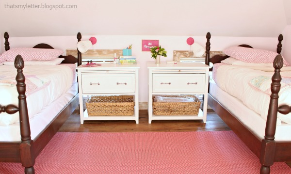 diy girls nightstands