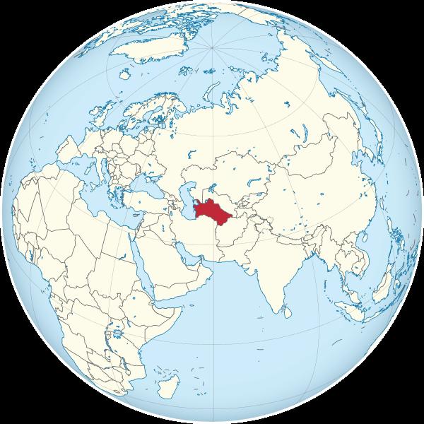 Туркме́ния(официально Туркмениста́н, туркм. Türkmenistan) — страна в Средней Азии. Граничит с Афганистаном и Ираном на юге, Казахстаном и Узбекистаном на севере, омывается внутренним Каспийским морем на западе, выхода к мировому океану не имеет. Член ООН со 2 марта 1992 года. Столица страны — город Ашхабад. Является нейтральным государством. Независимость от СССР была провозглашена 27 октября 1991 года.