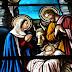 Nativité : les vitraux de nos églises.
