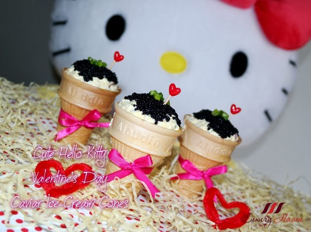 pretty valentines day hello kitty recipe