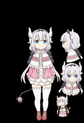 คันนะ คานมุย (Kanna Kamui) @ Miss Kobayashi's Dragon Maid: Kobayashi-san Chi no Maid Dragon คุณโคบายาชิกับเมดมังกร