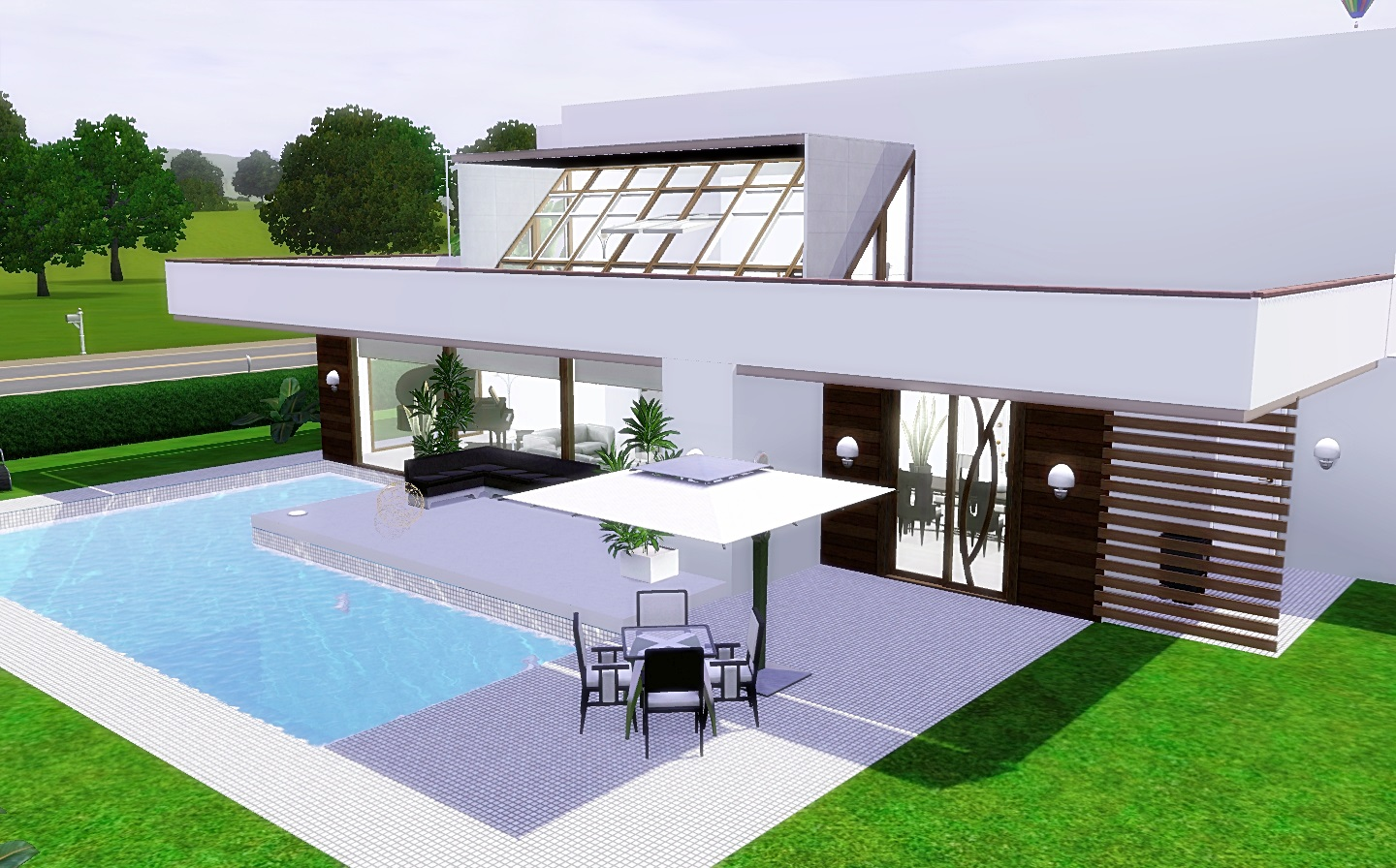 The sims 3 modern house house modern for Modern house 3