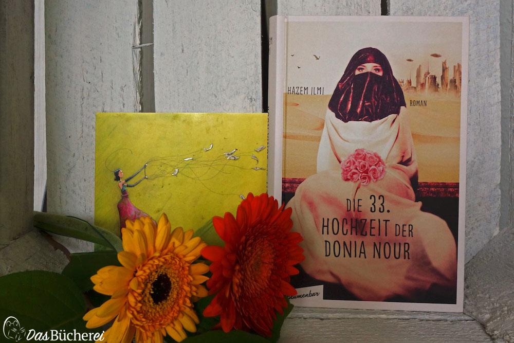 Neues Buch: Hazem Ilmi: Die 33. Hochzeit der Donia Nour (Blumenbar Verlag)