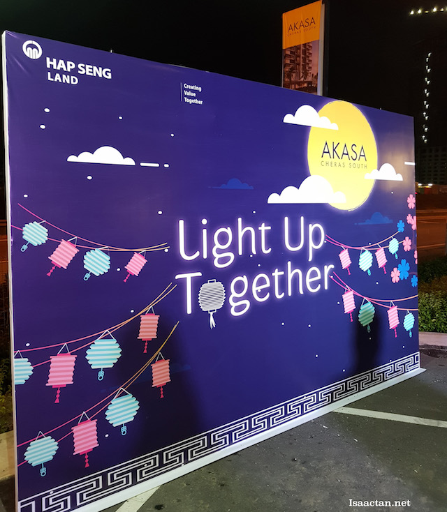 Light up together, the theme of the event