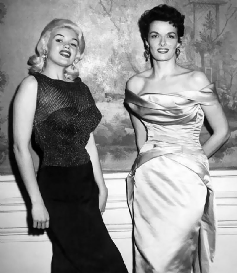 Image result for Jane Russell and Jayne Mansfield