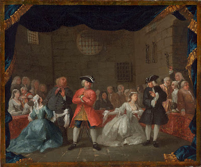 A Scene from the Beggar's Opera