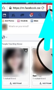 basic facebook app for android