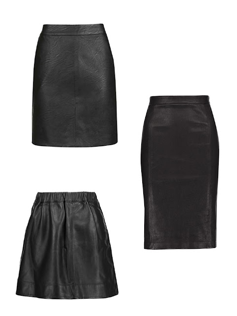 leather skirts as seen on women in Rome