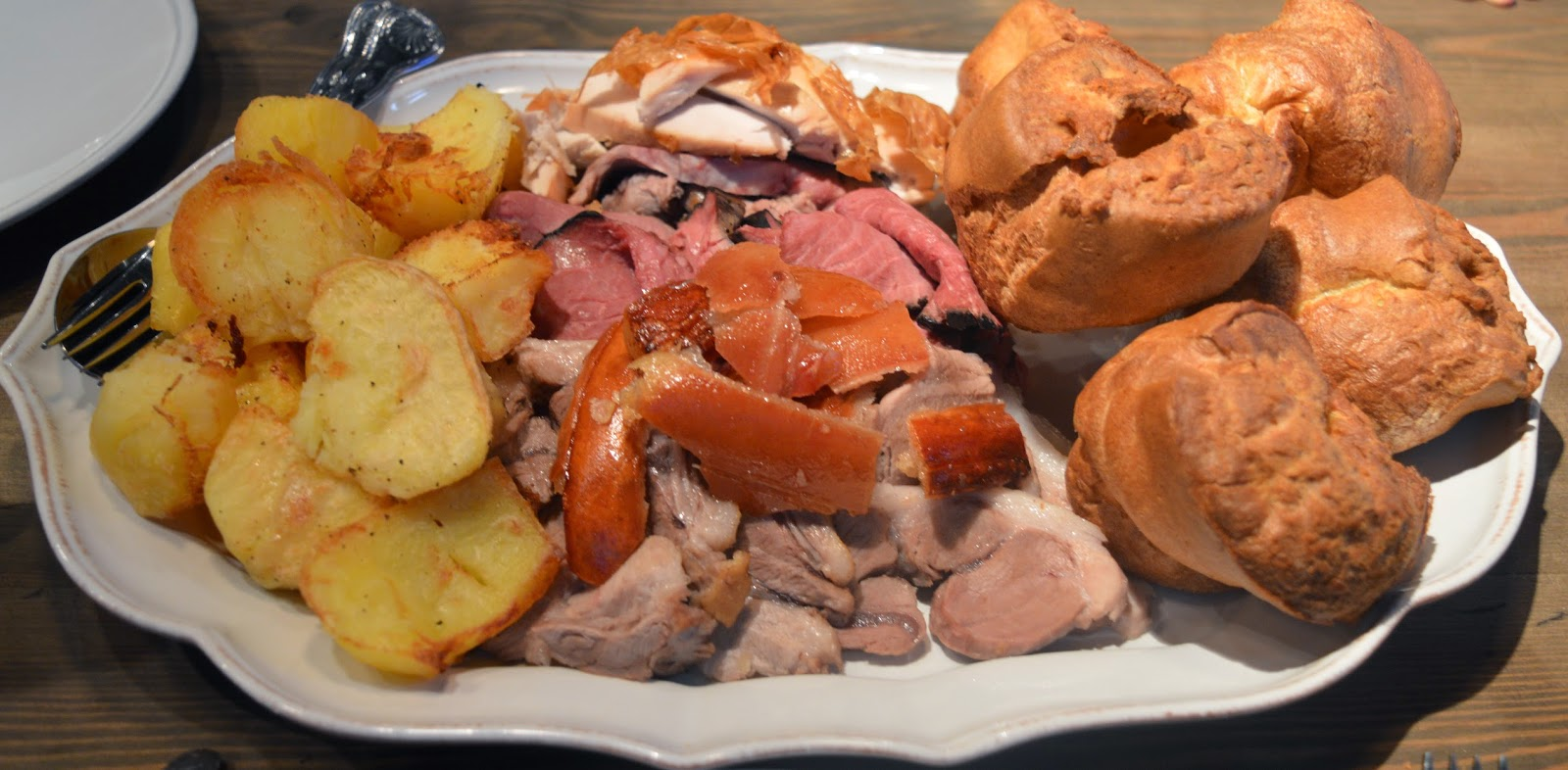 Our Guide to the Best Family Friendly Sunday Lunches in the North East  - Sunday lunch platter, The Fox Hole Pub Piercebridge