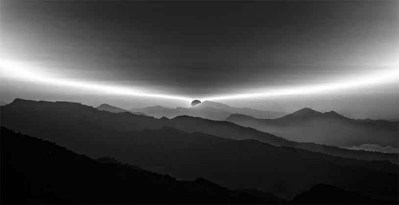 B &W Landscape Photography Of Nepal