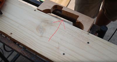 สอนทำเครื่องไสชิดไม้