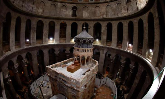 Jesus's tomb to be unveiled to public after $4 million restoration - March 21, 2016