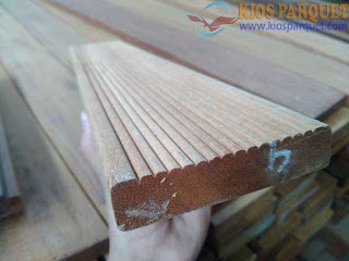 Harga lantai kayu untuk halaman atau outdoor bengkirai