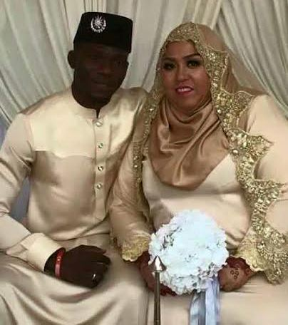 Photos: Young African man weds a Malaysian woman...