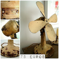 Tienda online de ventiladores antiguos de principios de siglo, años 20.30.40 para decoración vintage