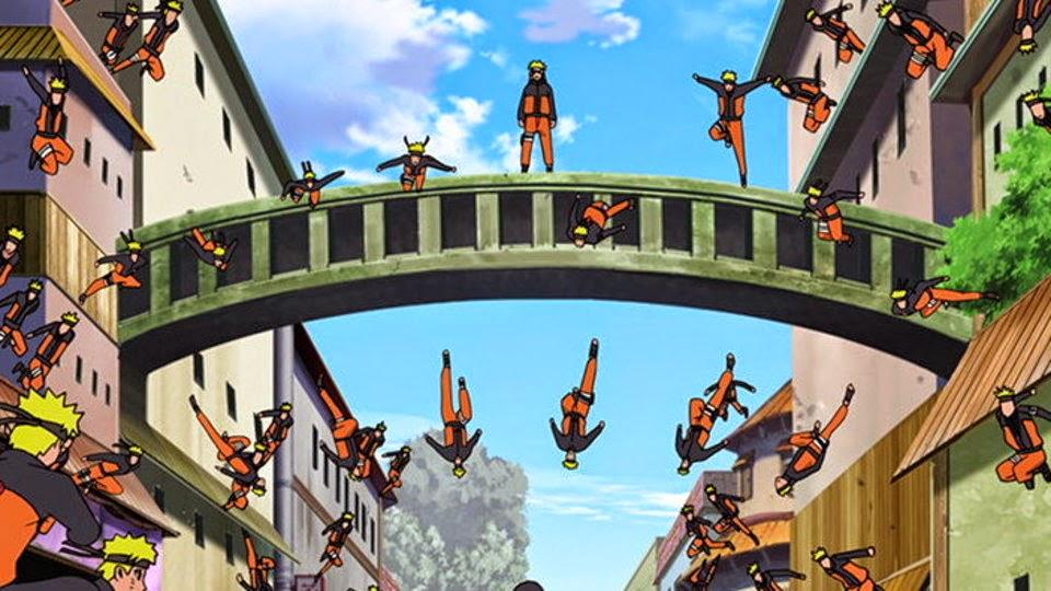 Naruto Kage Nunshin no Jutsu