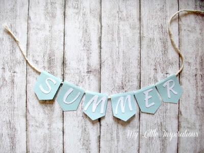 Bandierine con scritta Summer - MLI
