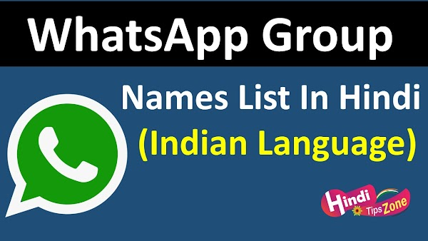 {Updated} Whatsapp Group Names List For Friends 2019