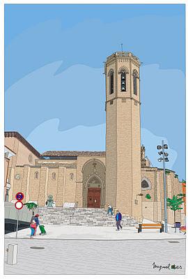 Iglesia San Lorenzo de Lleida