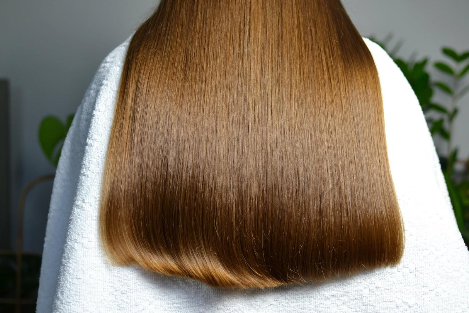 blog o włosach, proste włosy