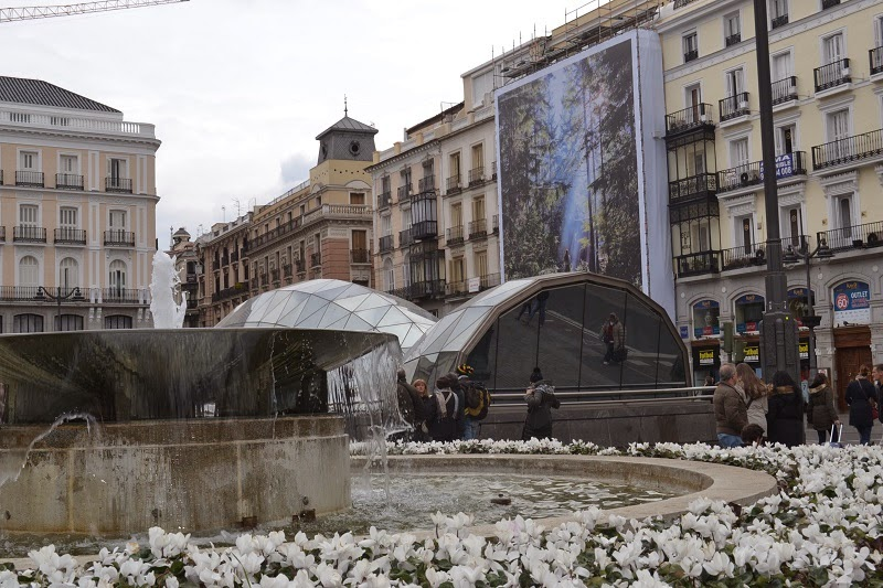 Madrid, espagne, Puerta del Sol