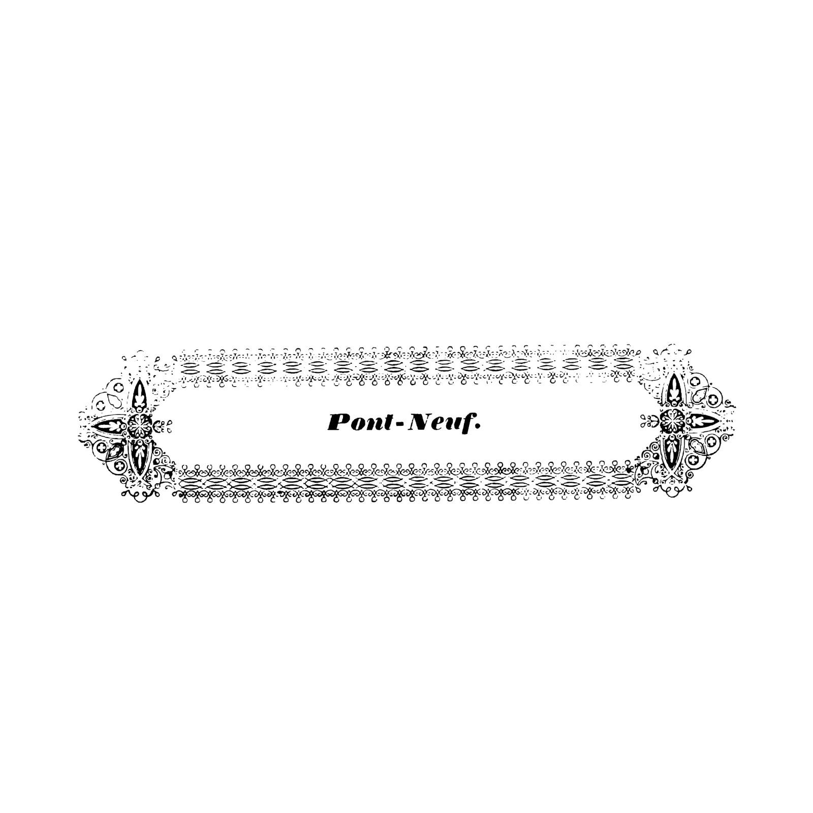 おしゃれでかわいい「装飾用飾り枠」pop用テンプレート004イラスト素材