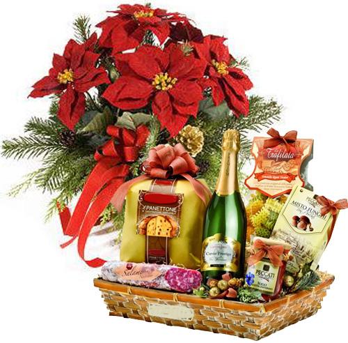 Favoloso Blog di Cinzia Bois: Come preparare un cesto regalo per Natale.Per  UF29