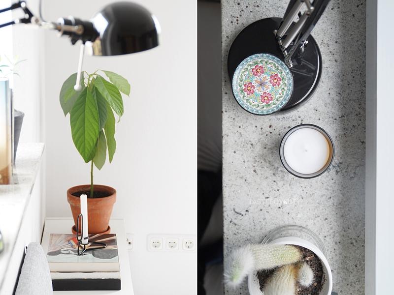 Fensterbank und Jugendzimmer kreativ dekorieren mit Pflanzen, Büchern und schlichter Deko im skandinavischen Stil