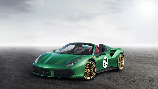 "Ferrar 488 Spider ""The Green Jewel"""