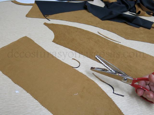 como rematar una chaqueta sin forro