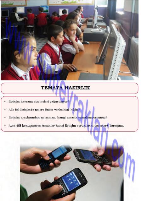 8. Sınıf Türkçe Dörtel Yayınları Çalışma Kitabı Cevapları