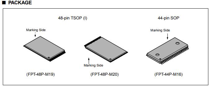 IC MBM29F400TC-90PFTN Điện tử