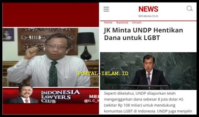TERUNGKAP! Ada Organisasi Internasional Gelontorkan Dana Ratusan Miliar untuk Golkan LGBT Boleh di Indonesia