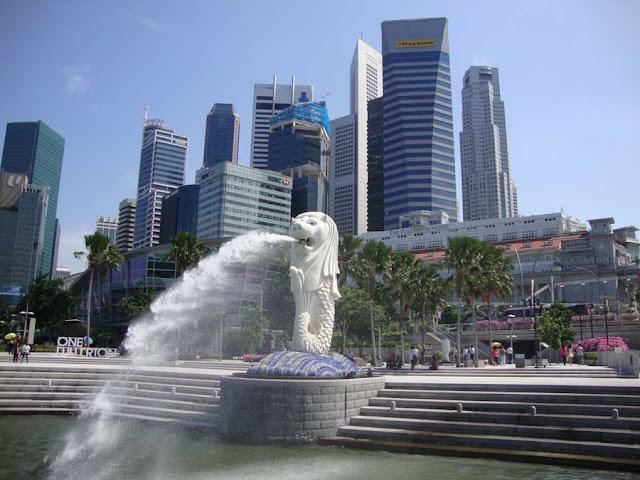 Merlion di Singapore
