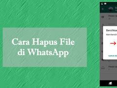 Cara Menghapus Beban Memori Penyimpanan di WhatsApp