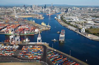 Le port de Melbourne géré par un fonds d'investissement
