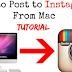 Upload to Instagram From Mac