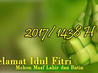 Blog AwCyber Mengucapkan Selamat Hari Raya Idul Fitri 1438 H - Mohon Maaf Lahir dan Batin